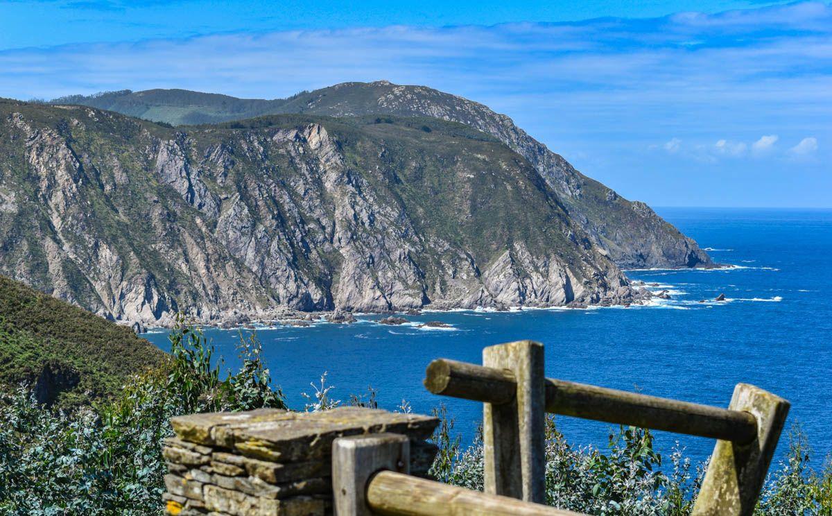 Vistas desde San Andrés de Teixido, A Coruña, Galicia