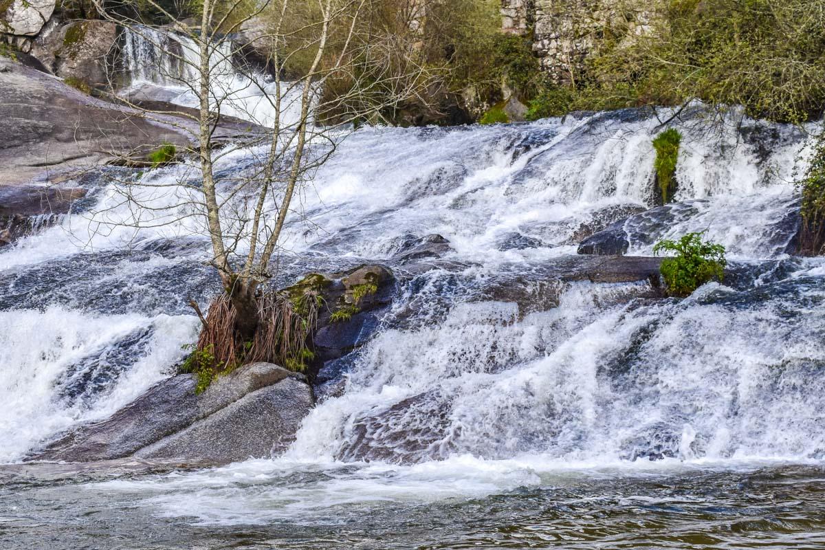 Cascada de Río Barosa, Pontevedra, Galicia