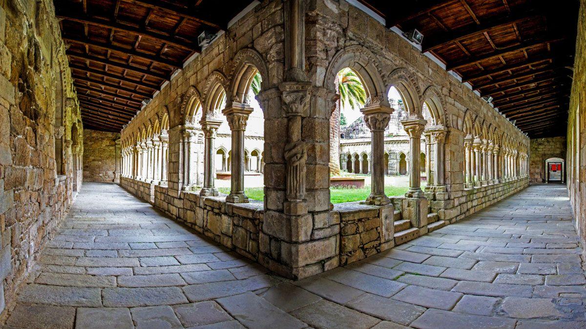 Claustro de San Francisco, Ourense, Galicia