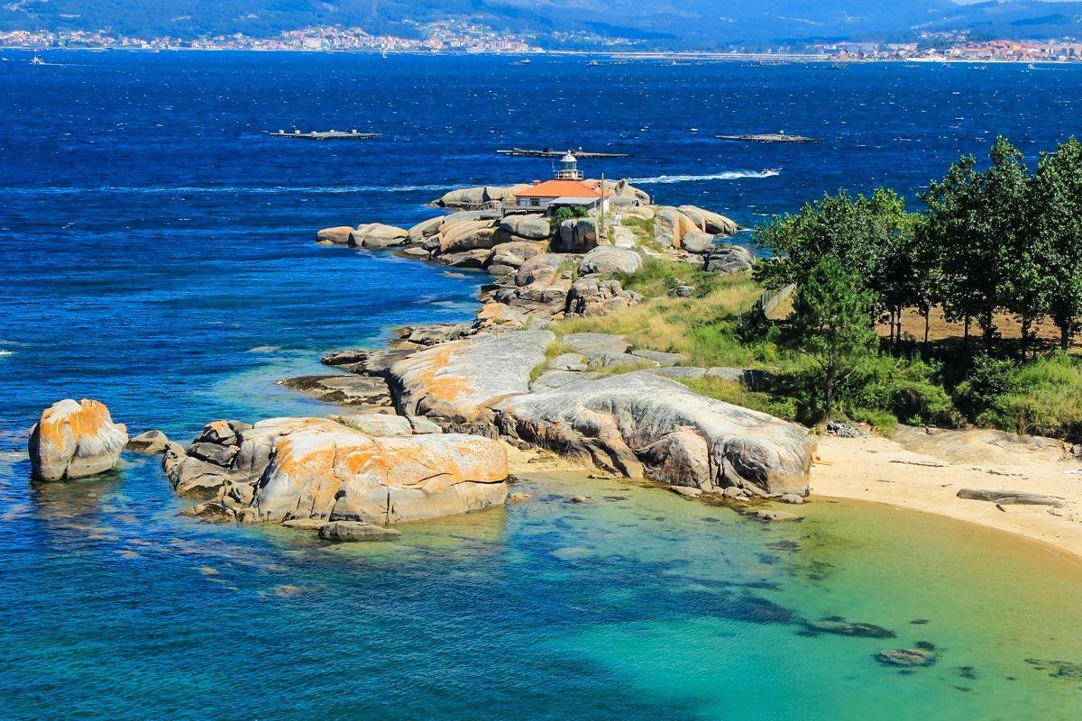 Faro de Illa de Arousa, Pontevedra, Galicia | Qué ver y hacer en Galicia