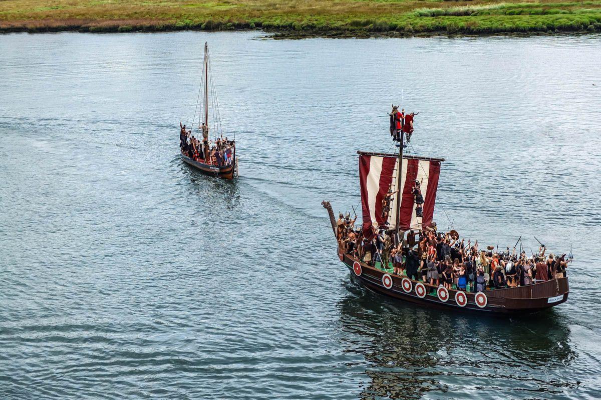 Fiesta de vikingos, Catoira, Pontevedra, Galicia | Viajar a Galicia