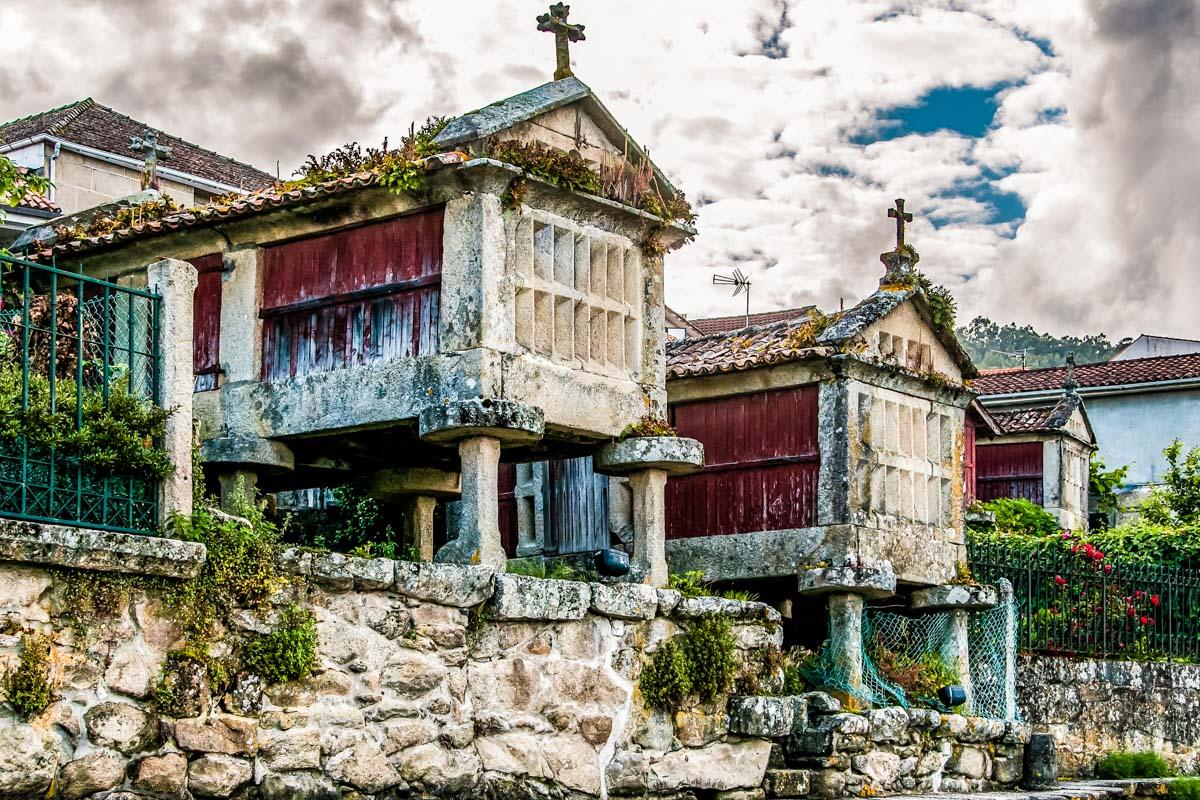 Hórreos, Combarro, Pontevedra, Galicia | Qué ver en Galicia