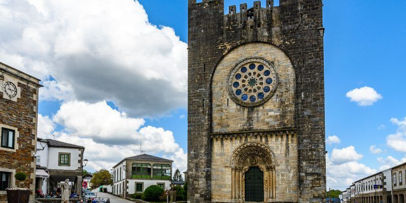 Iglesia de San Juán, Portomarín, Lugo, Galicia