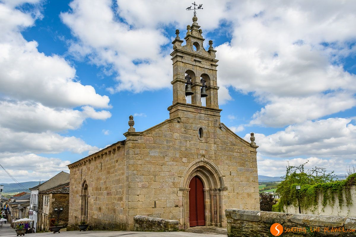 Iglesia de San Salvador, Sarria, Lugo, Galicia