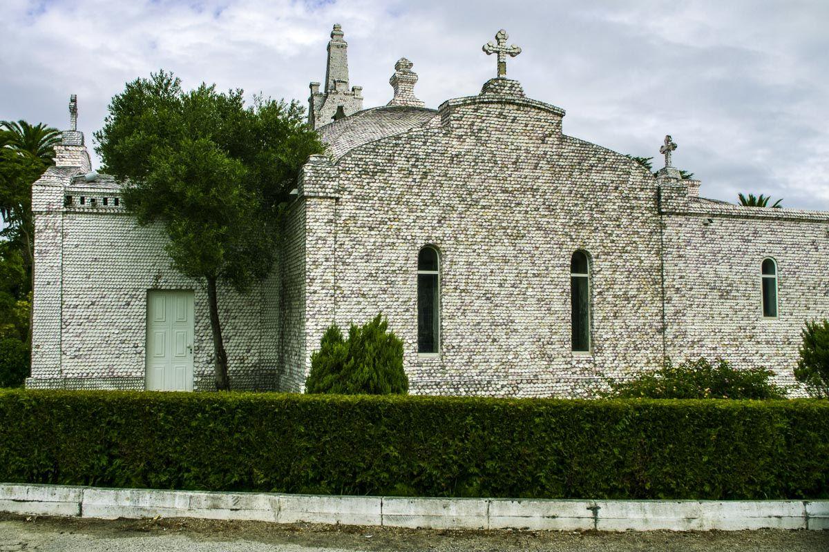 Ermita de las Conchas, Isla de la Toja, Pontevedra, Galicia