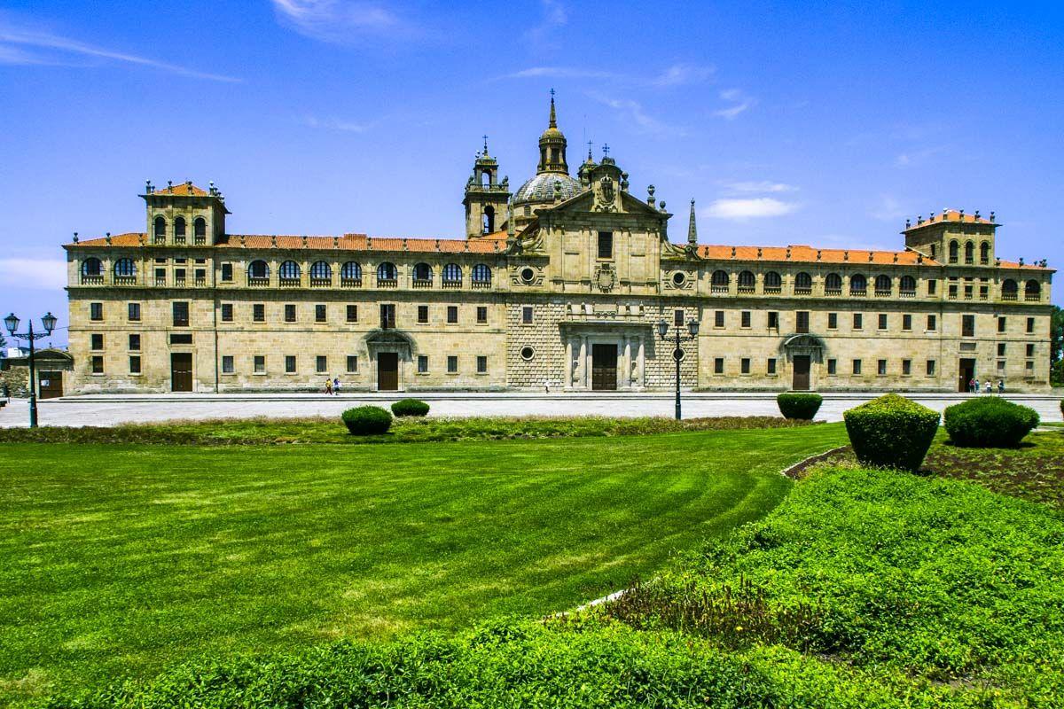 Colegio de Nuestra Señora de la Antigua, Monforte de Lemos, Lugo, Galicia