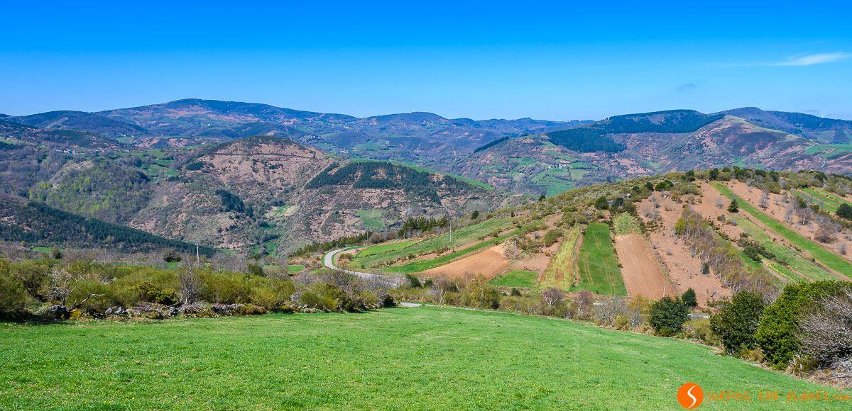 Paisaje cerca de O Cebrero, Lugo, Galicia