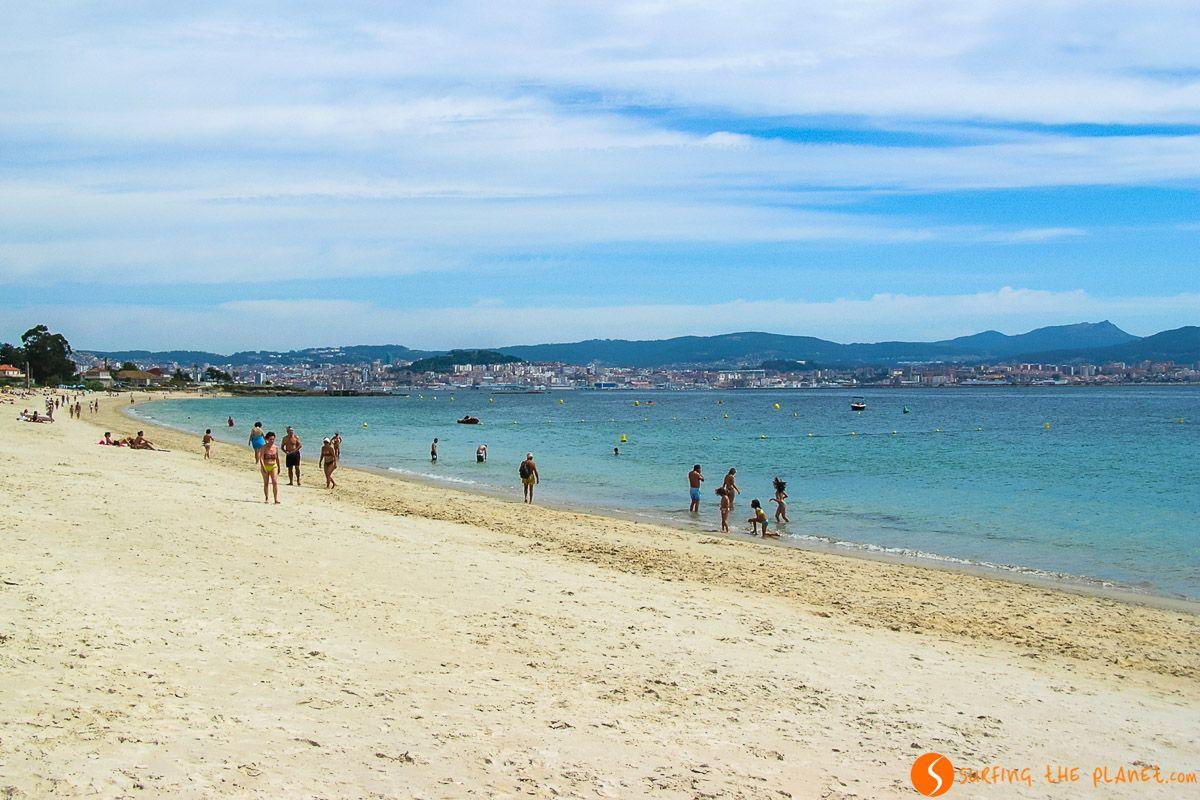 Playa de Samil, Vigo, Pontevedra, Galicia