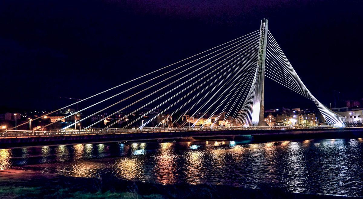 Puente de Tirantes, Pontevedra, Galicia