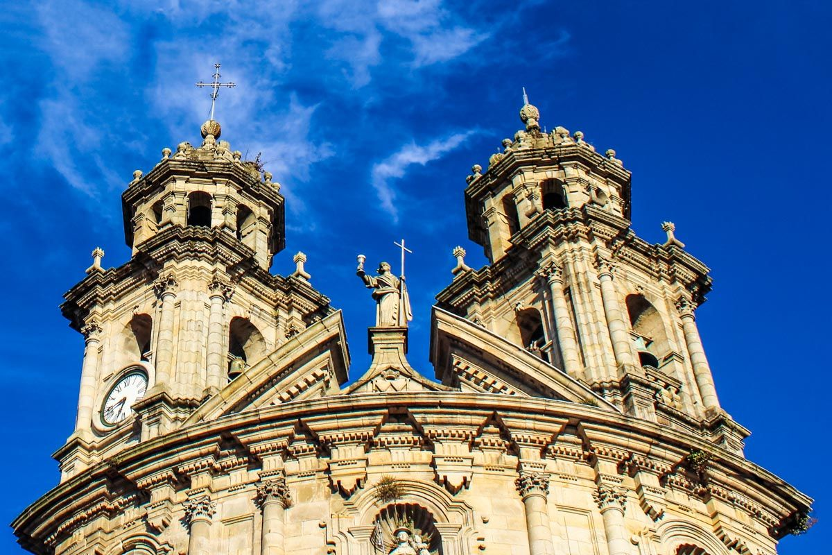 Santuario de la Virgen Peregrina, Pontevedra, Galicia |Qué visitar en Galicia