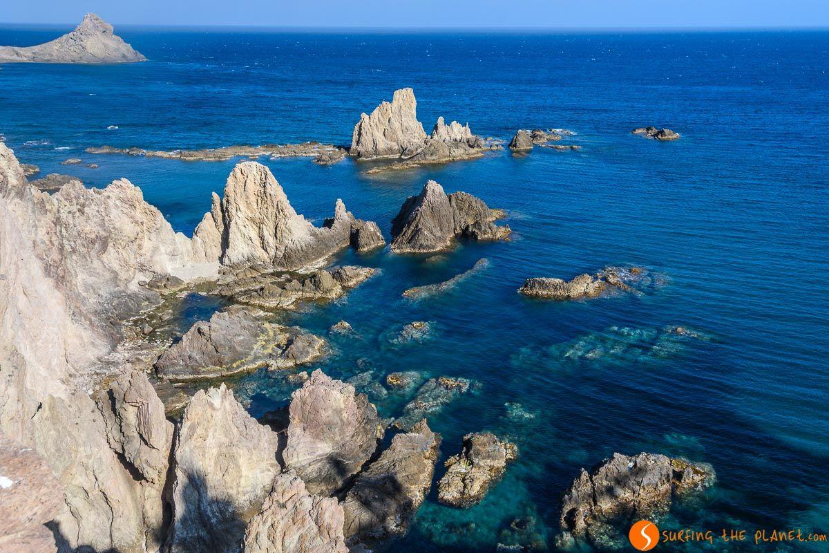 Arrecife de las Sirenas, Cabo de Gata, Almería, Andalucía | Qué ver en Andalucía