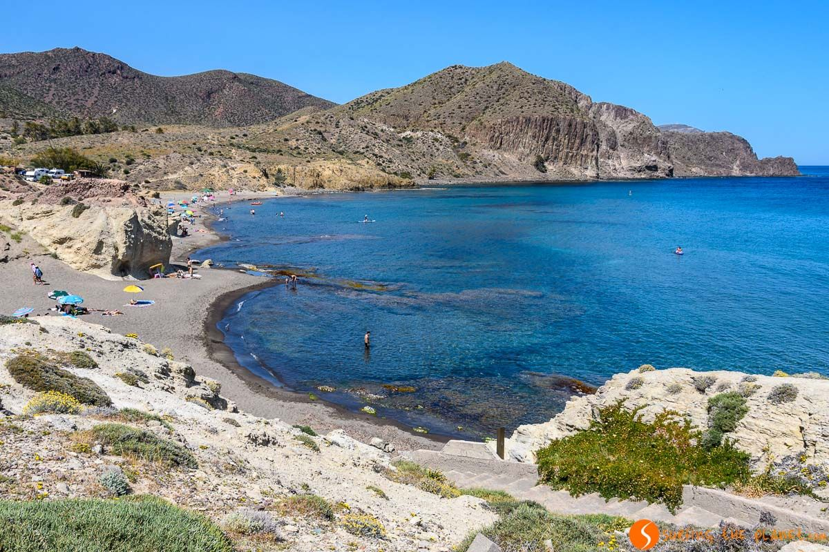 Cala de Peñón Blanco, Cabo de Gata, Almería, Andalucía