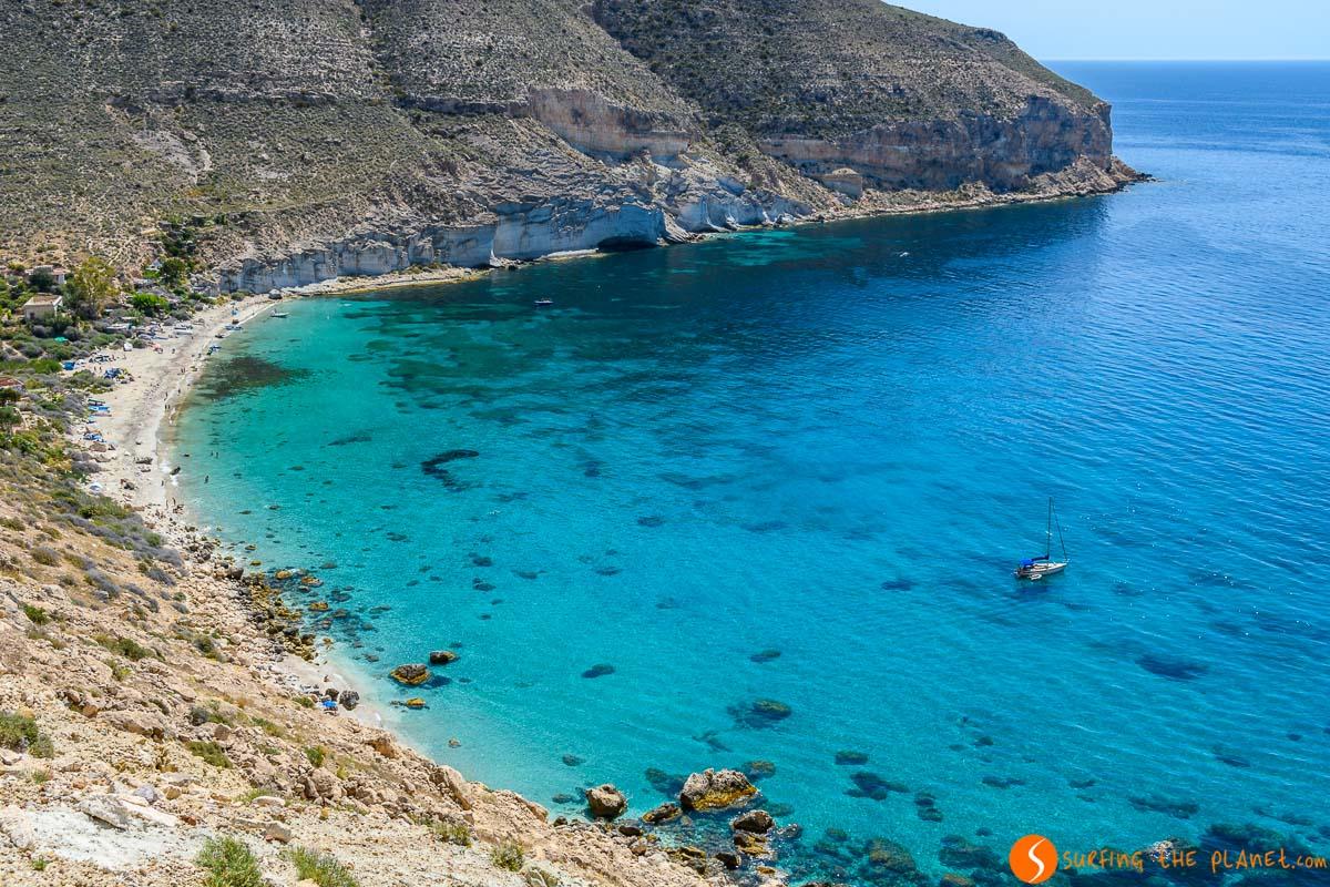Cala de San Pedro, Cabo de Gata, Almería, Andalucía | Qué visitar en Cabo de Gata