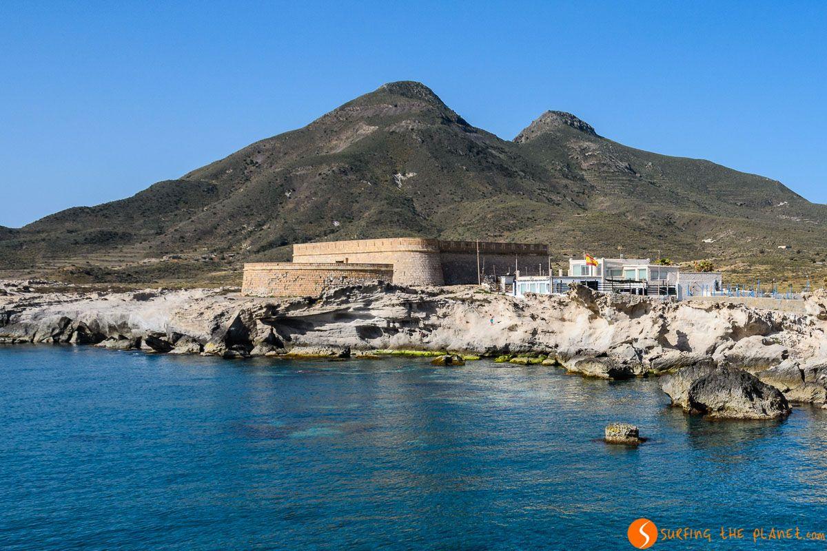 Castillo de San Felipe, Los Escullos, Cabo de Gata, Almería, Andalucía | Qué ver en Cabo de Gata