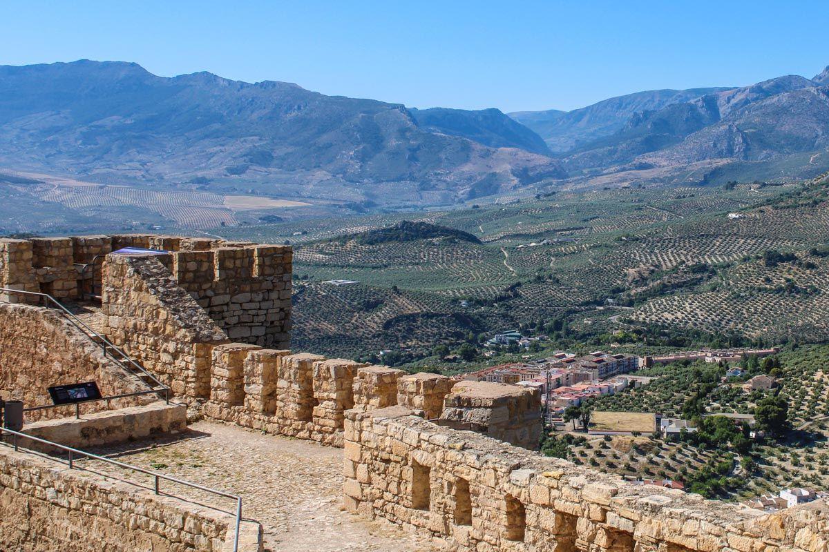 Castillo de Santa Catalina, Jaén, Andalucía