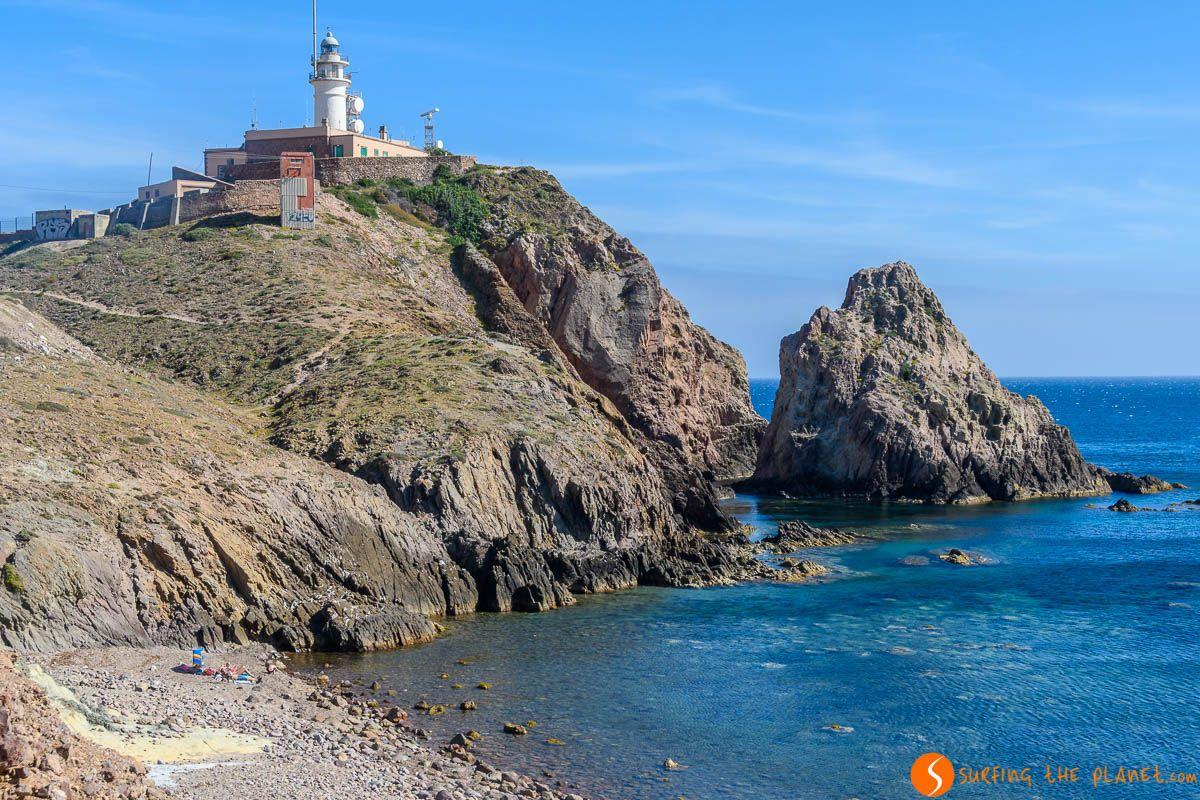 Faro de Cabo de Gata, Almería, Andalucía