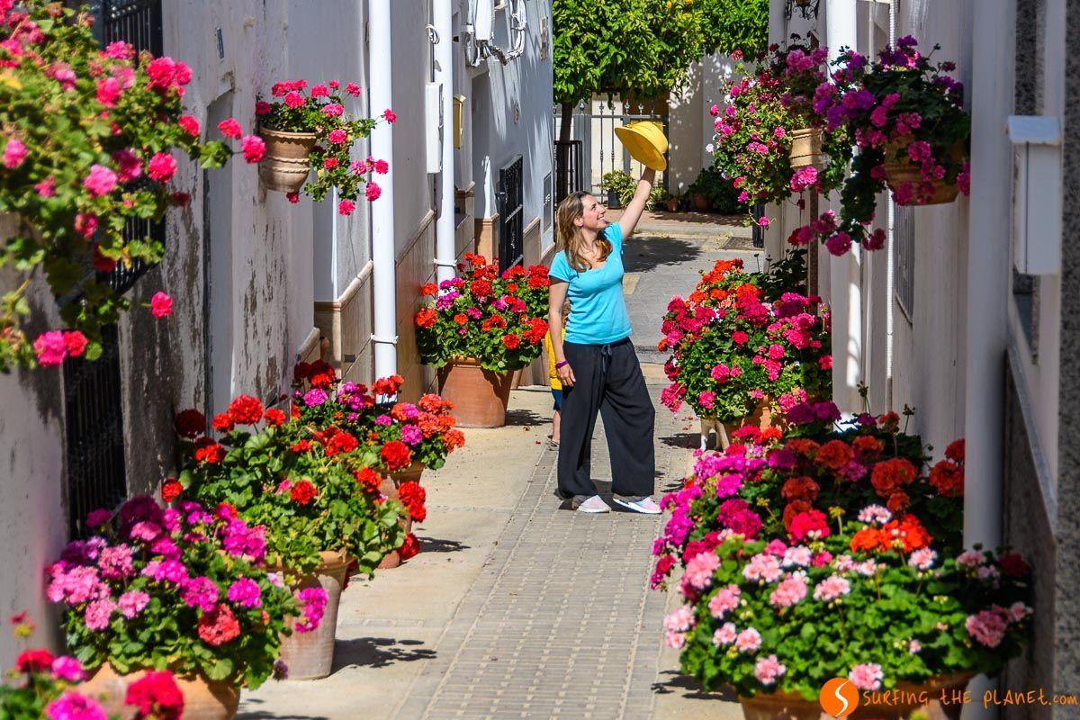 Calles con flores, Lucainena de las Torres, Almería, Andalucía |Qué visitar en Andalucía