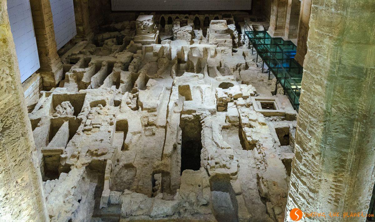 Interior de la Fortaleza de Mota, Alcalá la Real, Jaén, Andalucía