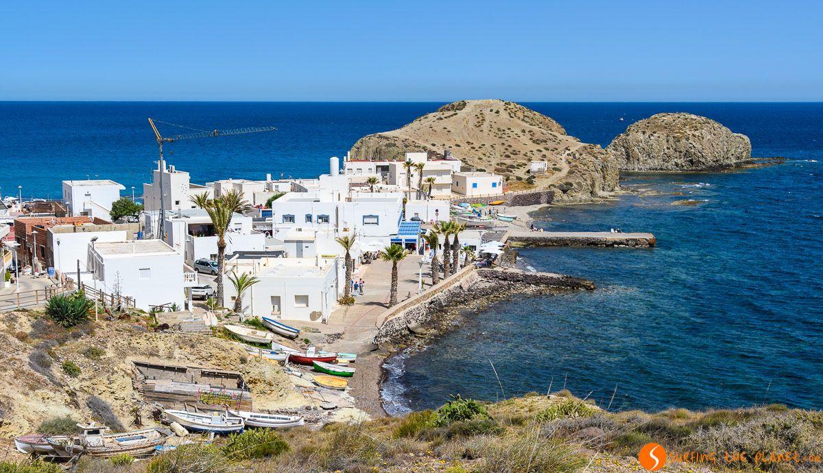 La Isleta del Moro, Cabo de Gata, Almería, Andalucía |Qué hacer en Cabo de Gata