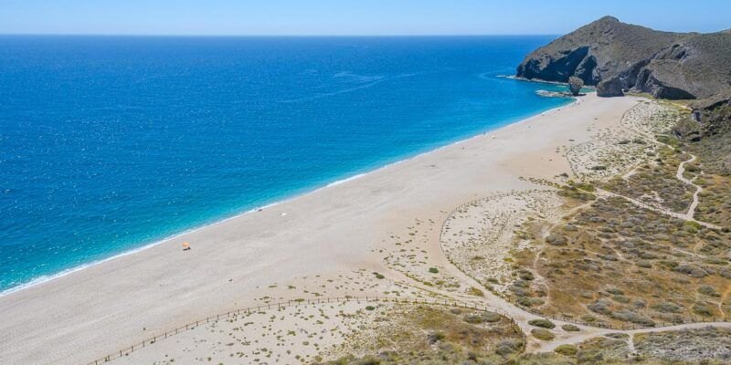 Mirador, Playa de los Muertos, Cabo de Gata, Almería, Andalucía