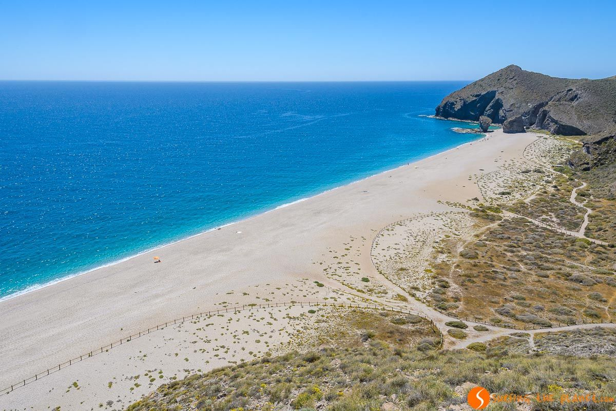 Mirador, Playa de los Muertos, Cabo de Gata, Almería, Andalucía | Qué hacer en Almería Provincia