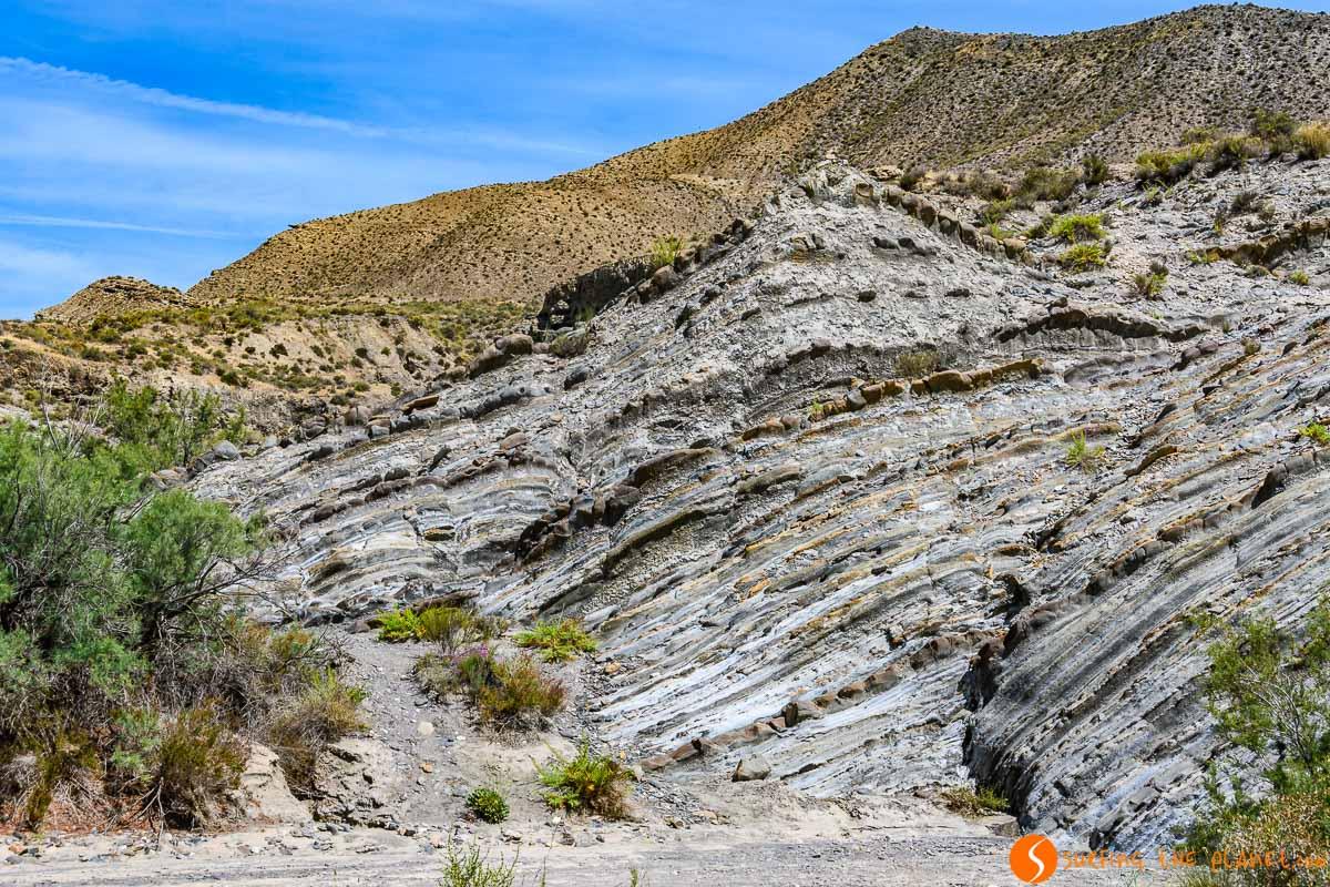 Formaciones rocosas, Desierto de Tabernas, Almería, Andalucía