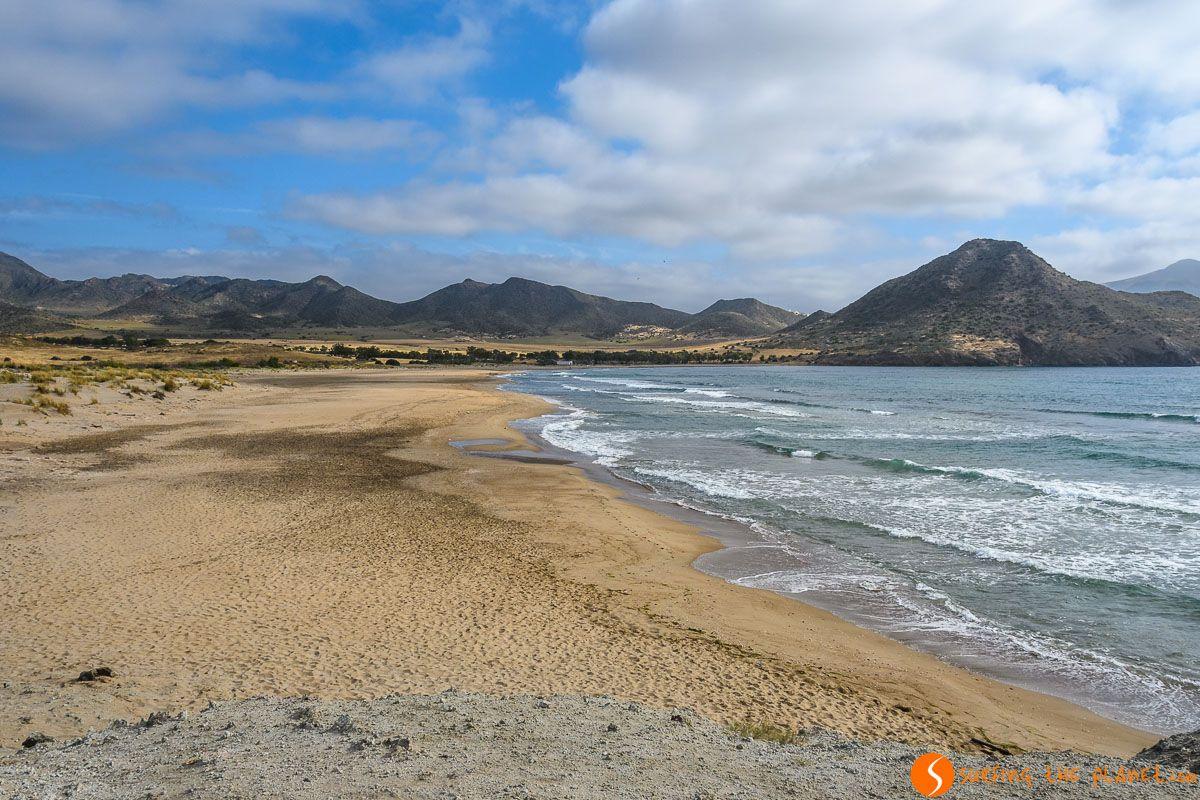 Playa de los Genoveses, Cabo de Gata, Almería, Andalucía