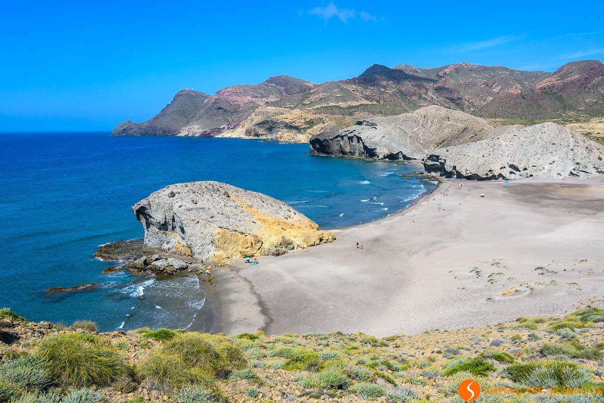 Playa de Mónsul, Cabo de Gata, Almería, Andalucía |Las mejores playas de Andalucía