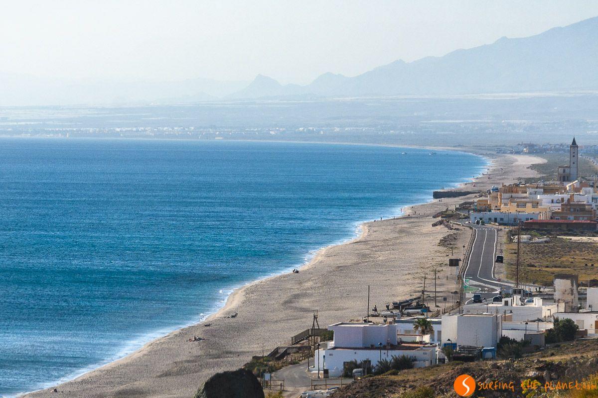 Playa de Salinas, Cabo de Gata, Almería, Andalucía |Qué visitar en Cabo de Gata