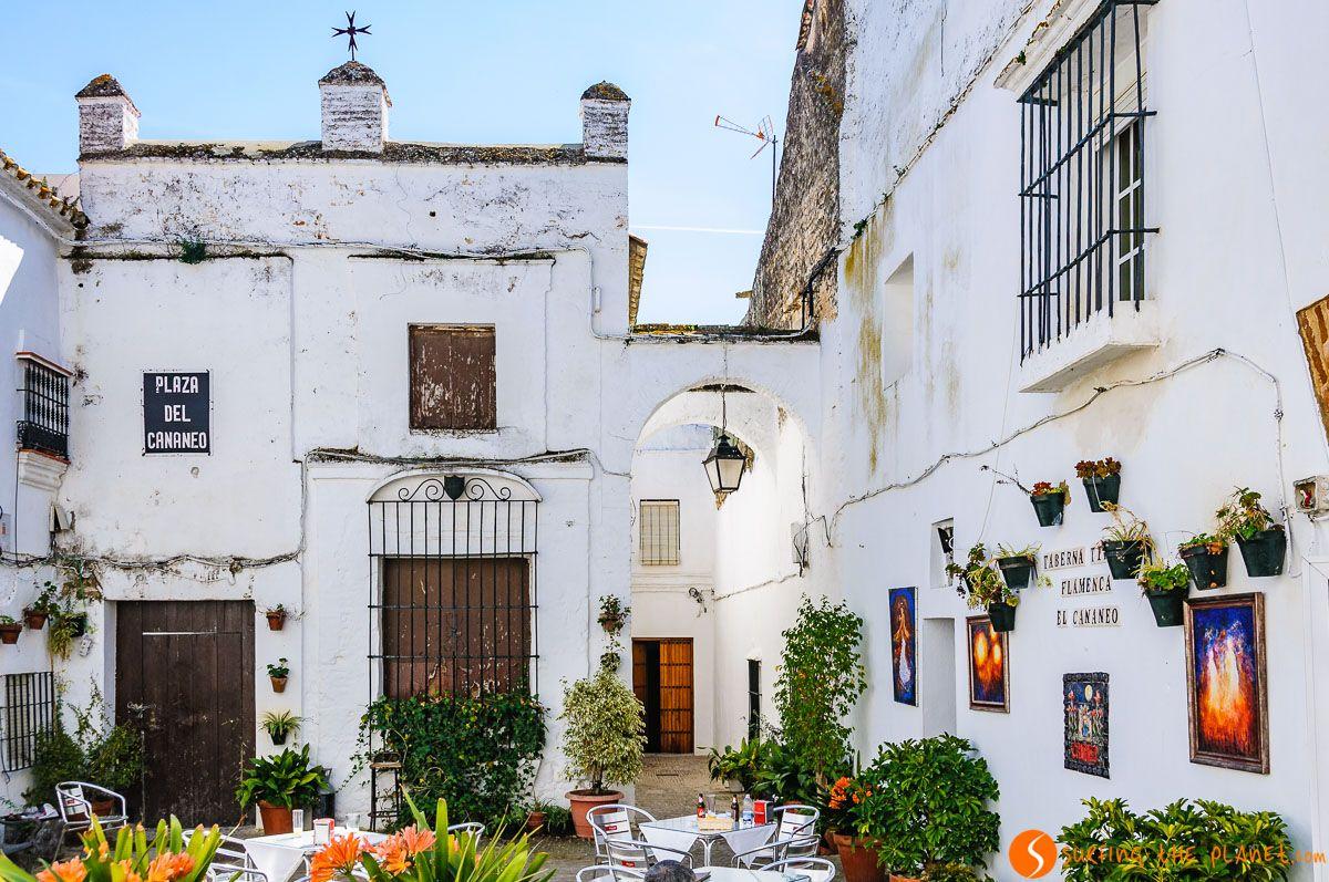 Patio pintoresco, Arcos de la Frontera, Provincia de Cádiz, Andalucía |Qué ver en la Provincia de Andalucía