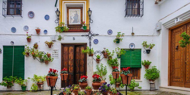 Plaza con encanto, Priego de Córdoba, Andalucía