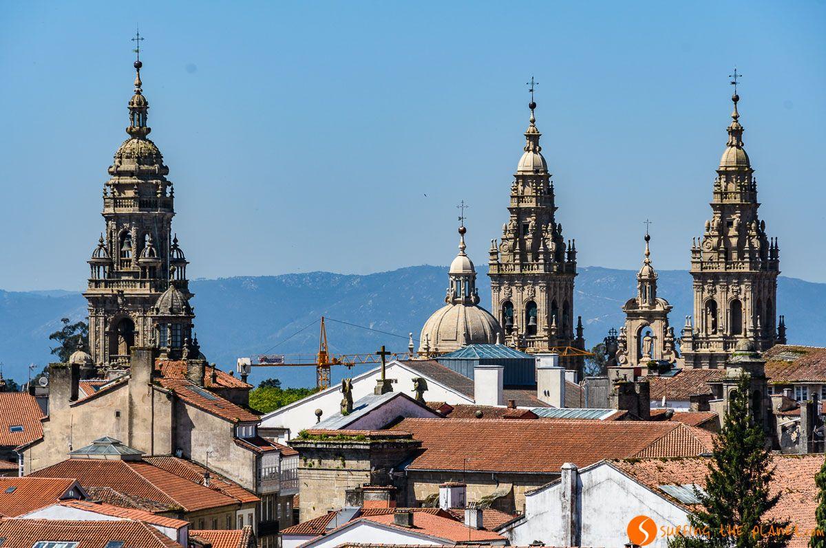 Torres de la Catedral, Santiago Compostela, Galicia