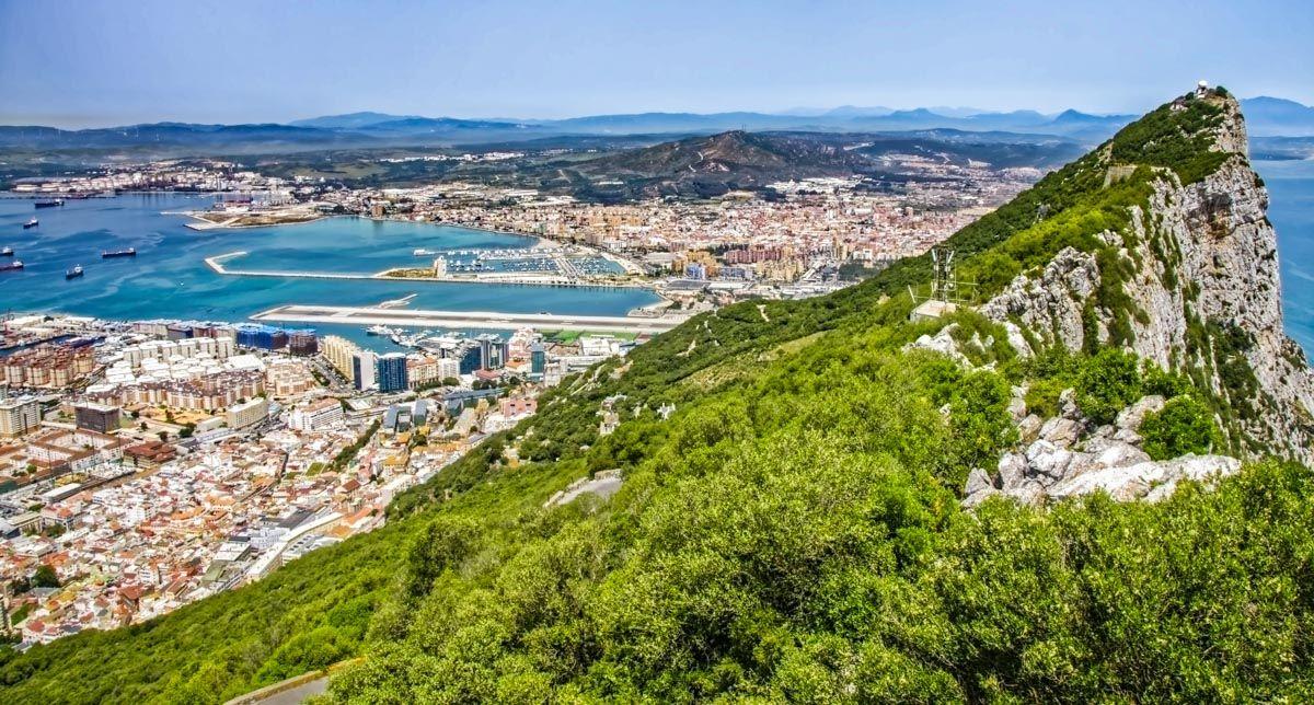 Vistas del Peñón de Gibraltar, Reino Unido |Qué hacer en la Provincia de Cádiz