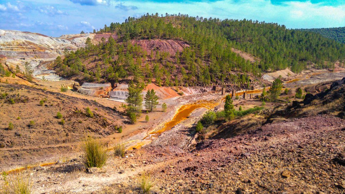 Paisaje, Parque Minero de Riotinto, Huelva, Andalucía | Qué ver en Huelva Provincia