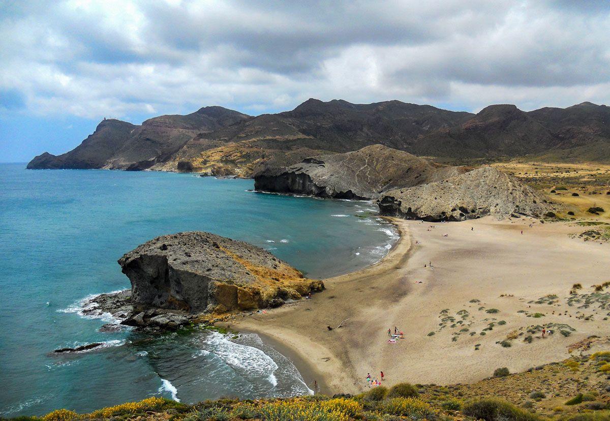 Playa de Mónsul, Almería, Andalucía