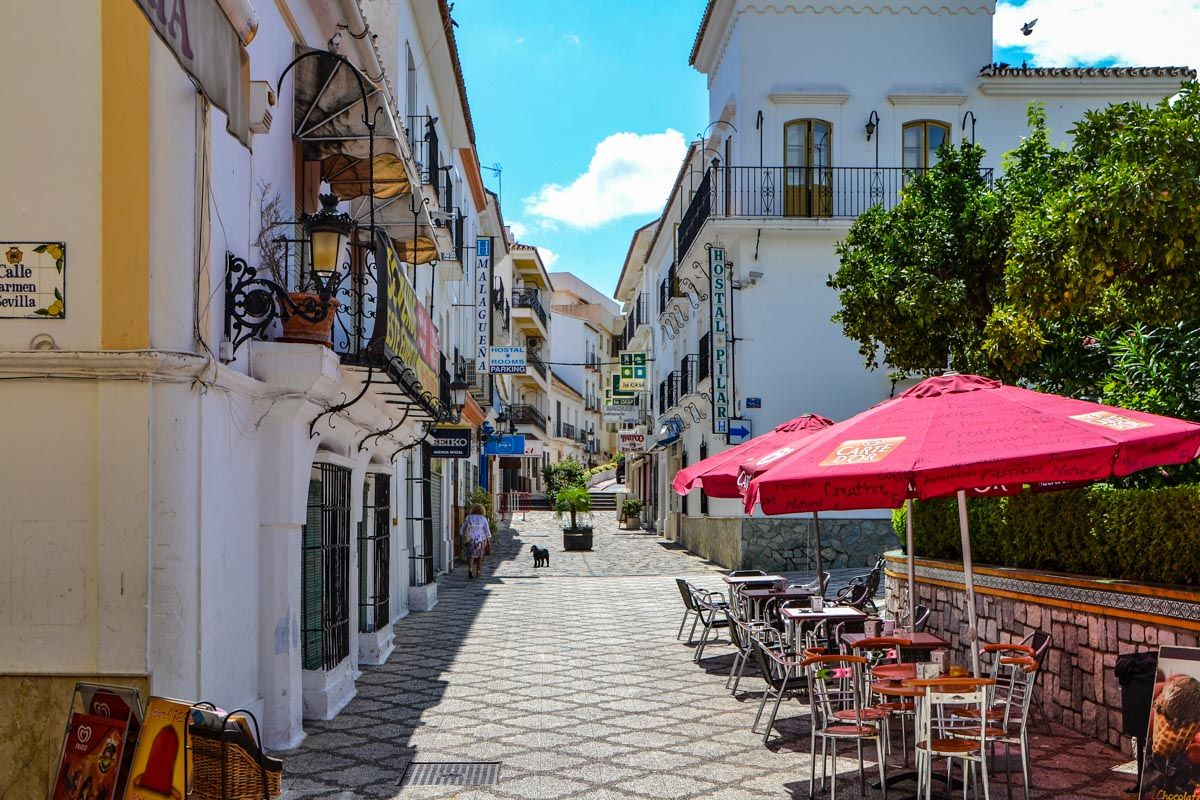 Centro histórico de Esteopna, Málaga, Andalucía   Pueblos con encanto en Málaga Provincia