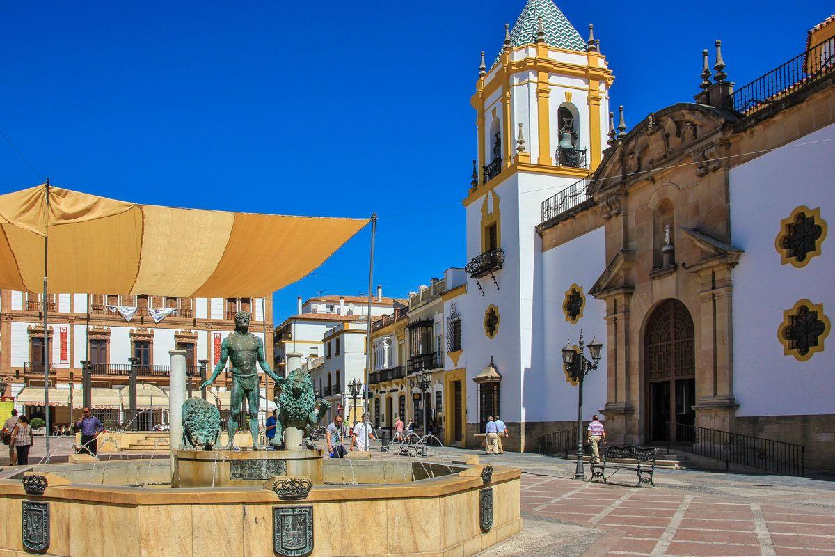 Centro histórico de Ronda, Málaga, Andalucía  Pueblos imprescindibles de Málaga
