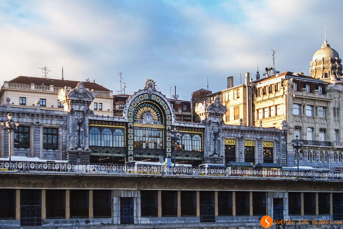 Estación, Bilbao, País Vasco  Los free tours de Bilbao