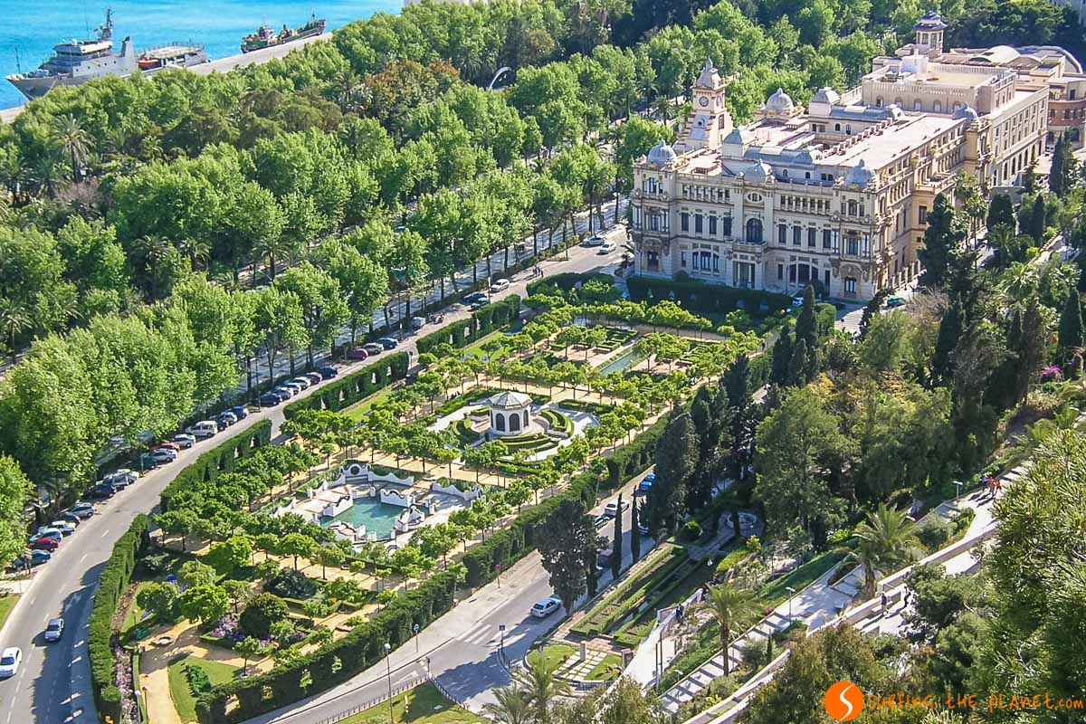 Parque de Málaga, Málaga, Andalucía |Qué visitar y ver en Andalucía
