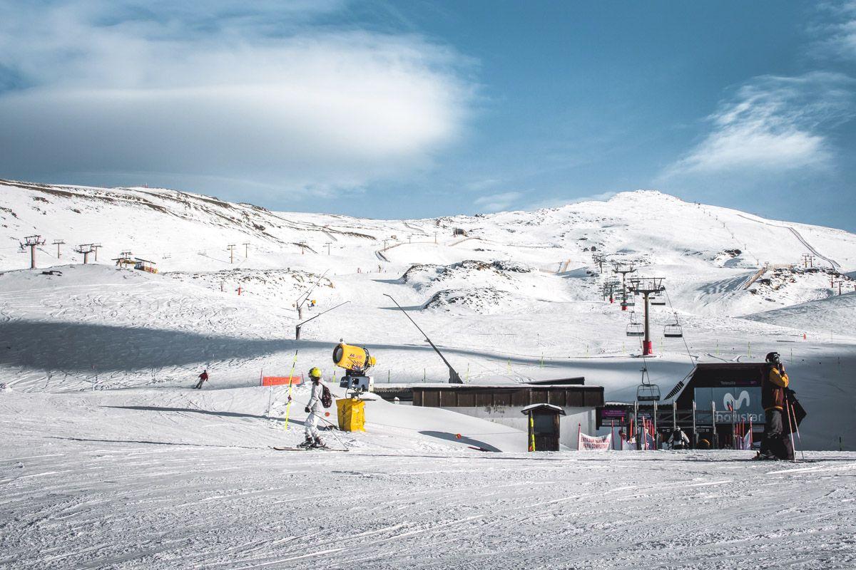 Estación de esquí de Sierra Nevada, Granada, Andalucía | Qué visitar en la provincia de Granada