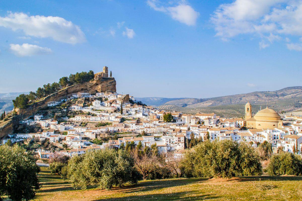 Vista panorámica, Montefrío, Granada, Andalucía |50 pueblos con encanto en Granada