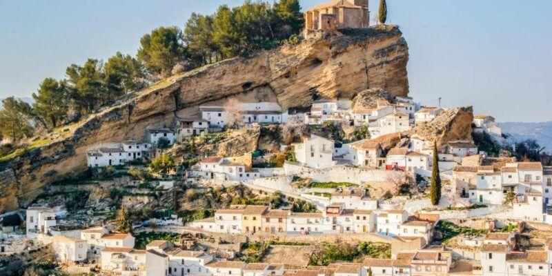 Peñón, Montefrío, Granada, Andalucía