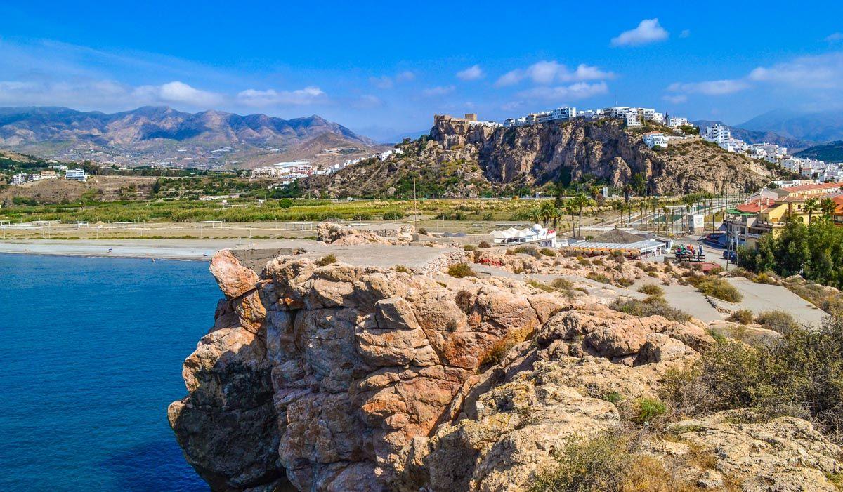 Playa de Salobreña, Granada, Andalucía | Los 50 pueblos más bonitos de Granada