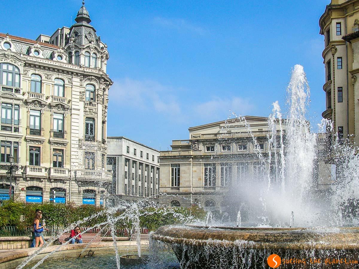 Plaza de Escalandera, Oviedo, Asturias   Free tours de Oviedo