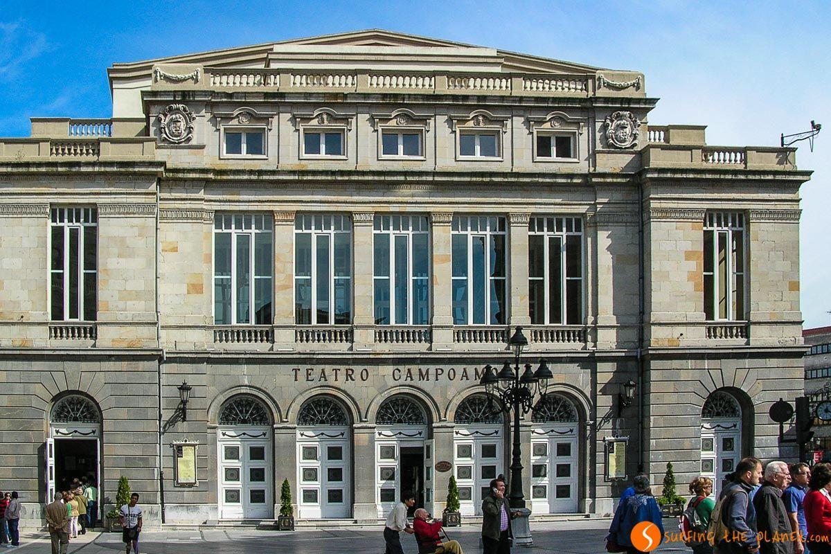 Teatro de Campoamor, Oviedo, Asturias   Free tours de Oviedo