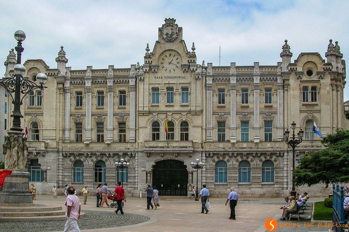 Ayuntamiento, Santander, Cantabria  Las mejores visitas guiadas de Santander