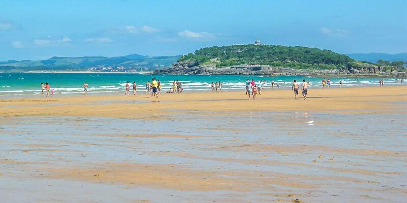 Playa El Sardinero, Santander, Cantabria