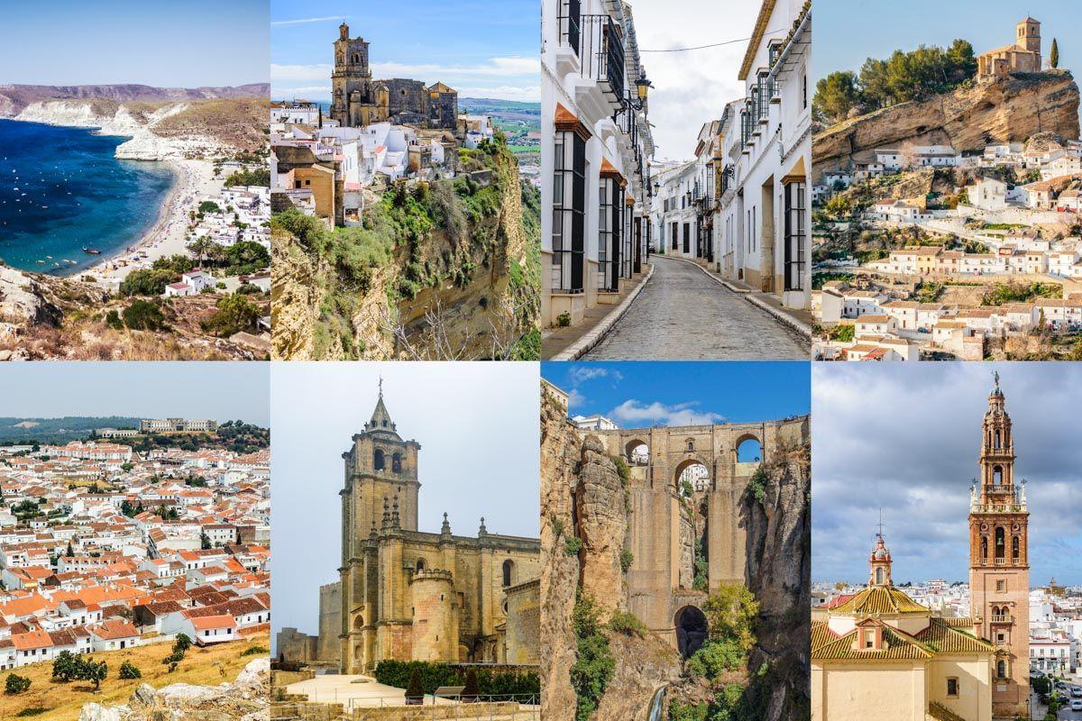 Los 100 pueblos más bonitos de Andalucía