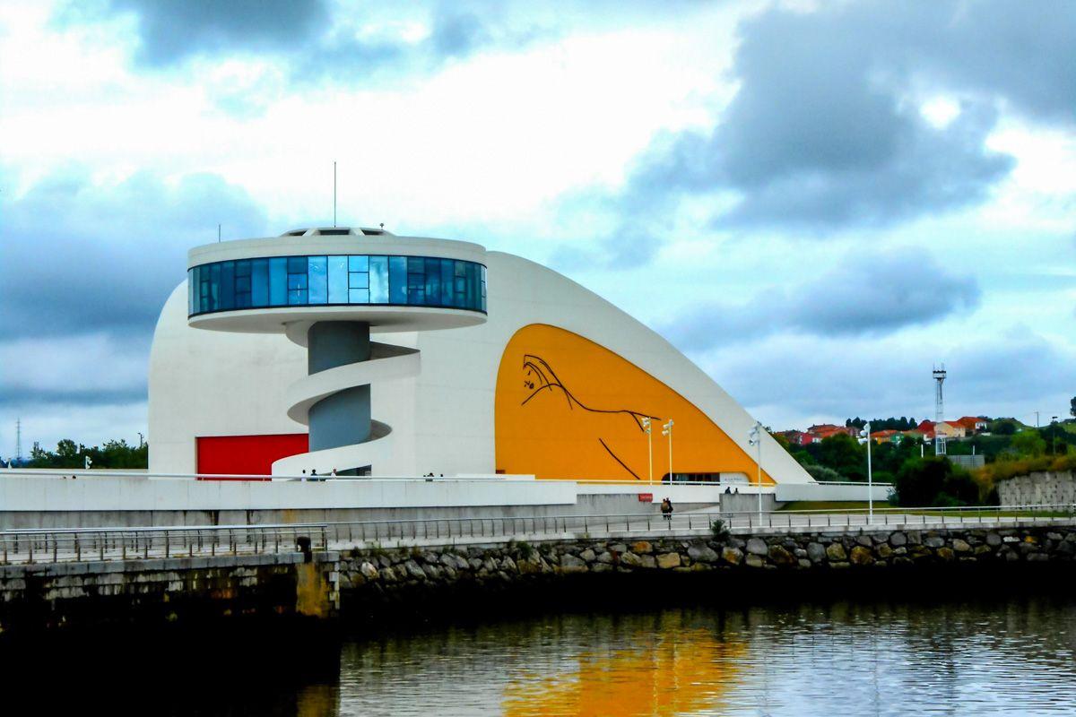 Centro de Niemeyer, Avilés, Asturias |40 cosas que ver y hacer en Asturias