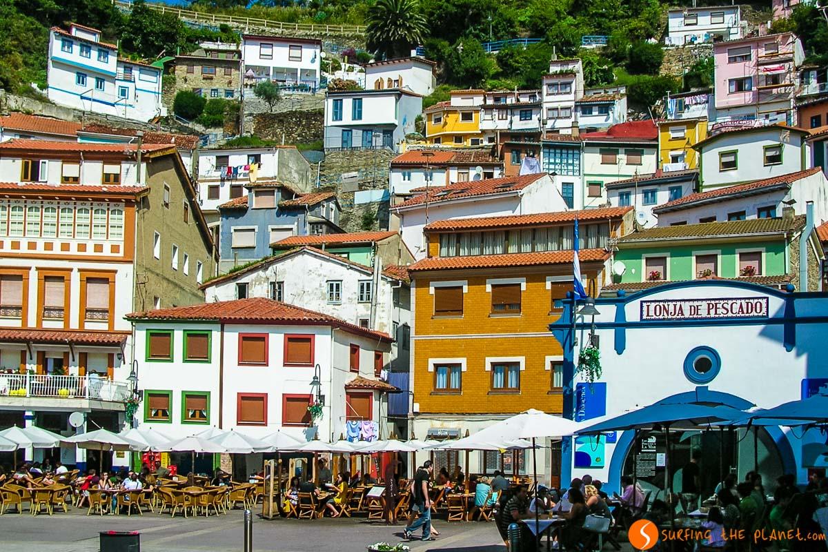 Plaza central, Cudillero, Asturias |Qué hacer en Asturias